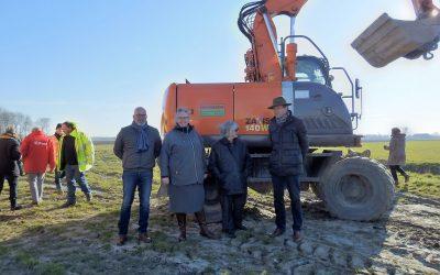 Eerste spade in de grond voor verbetering N215