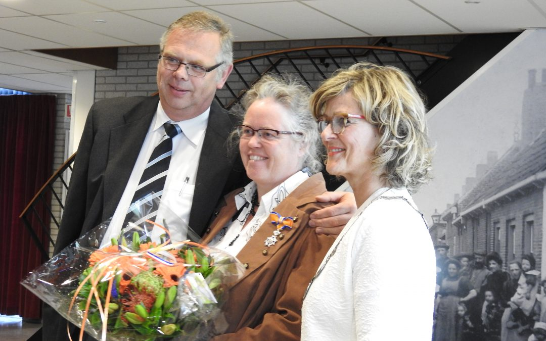 Anne-Karin Guijt-Holleman koninklijk onderscheiden