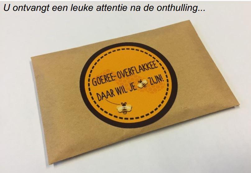 Onthulling bijenhotel in Nieuwe-Tonge